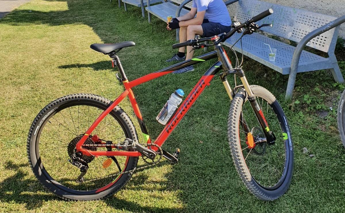 Rockrider ST 900 Black Red